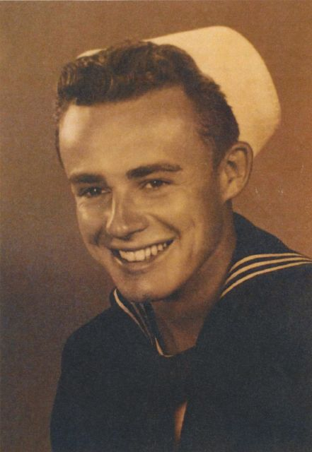 Uncle Fay in the Navy
